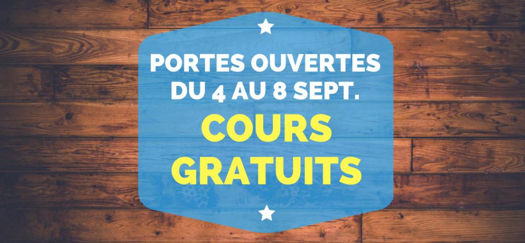 Portes ouvertes du 4 au 8 septembre 2017 une semaine de cours gratuits - Porte ouverte base aerienne saint dizier 2017 ...