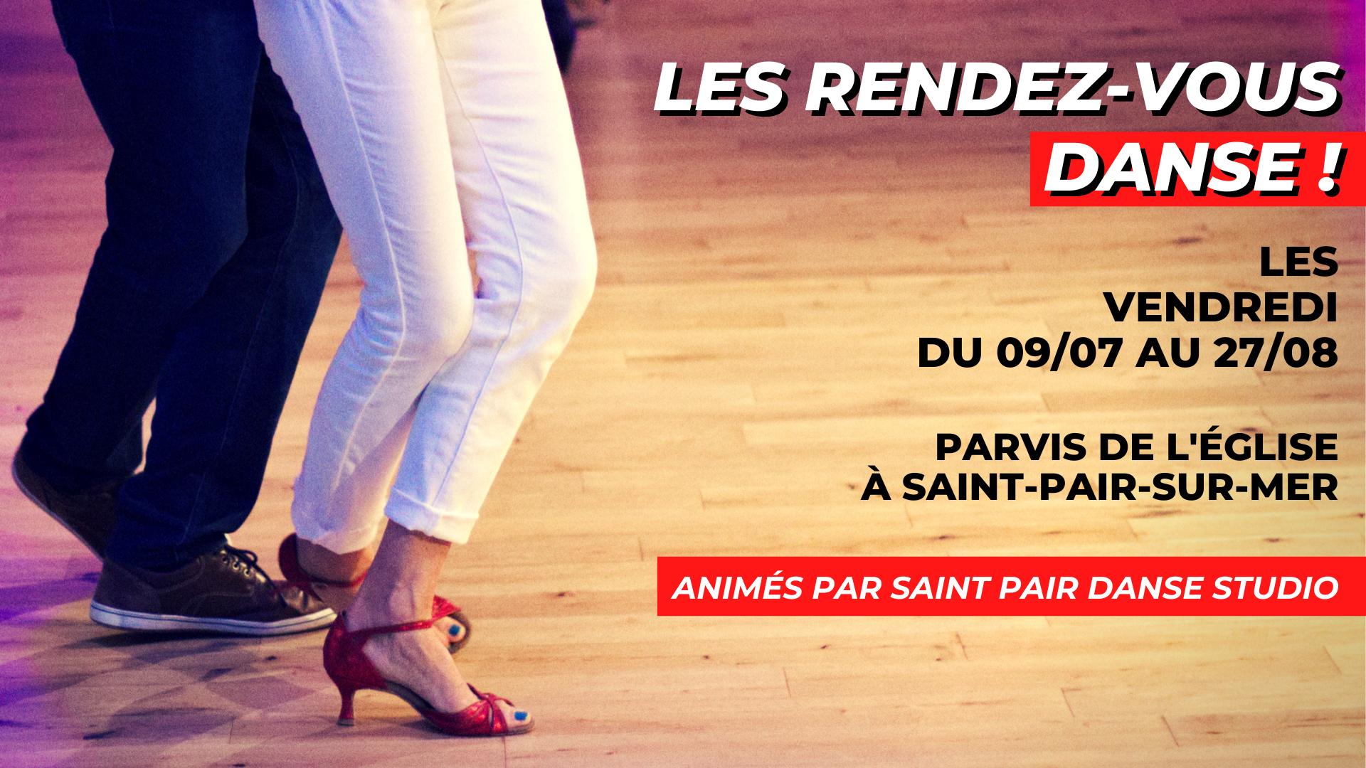 Apprendre à danser avec les Rendez-vous danse à Saint-Pair-sur-Mer du 9/07 au 27/08